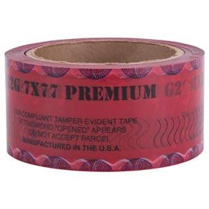 Opened - Premium Tamper Evident Tape