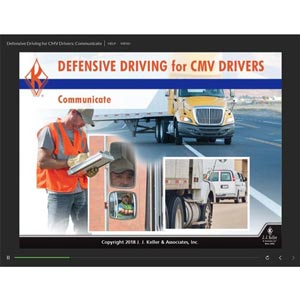 Defensive Driving for CMV Drivers: Communicate - Online Training Course