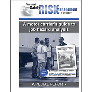 Special Report - A Motor Carrier's Guide to Job Hazard Analysis