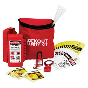 Economical Forklift Lockout/Tagout Kit