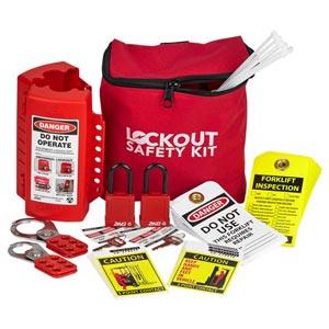 Forklift Lockout/Tagout Kit