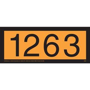 1263 Orange Panel