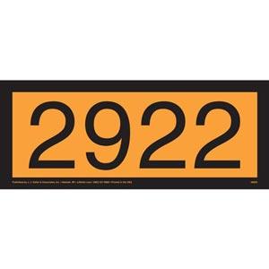 2922 Orange Panel