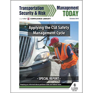 Special Report: Transportation Security & Risk Management Today