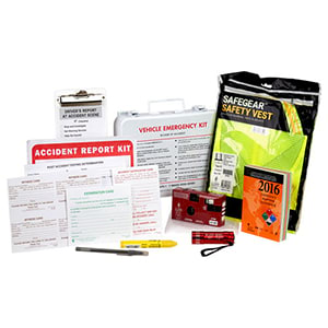 Accident Reporting Kit in Metal Case