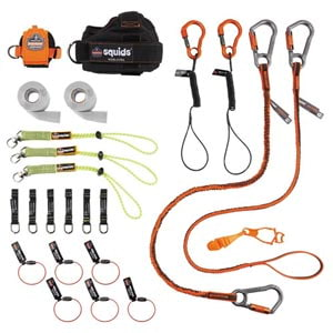 Carpenter and Laborer's Tool Tethering Kit