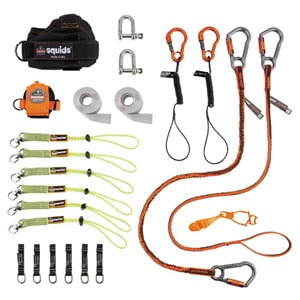 Iron and Steel Worker's Tool Tethering Kit