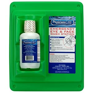 Physicians Care Eyewash Station – 16 oz.