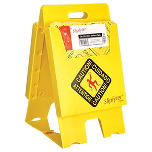 Caution Stand Universal Spill Kit