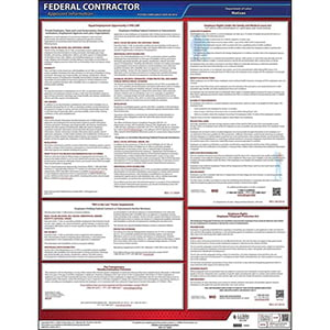 Federal Contractor Applicant Information Poster