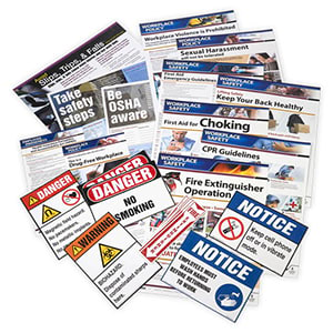 Healthcare Small Industry Safety Poster Bundle
