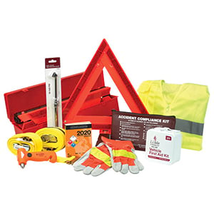 Truck Driver Essentials Safety Kit