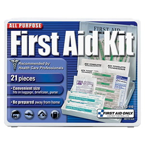 21-Piece Travel First Aid Kit