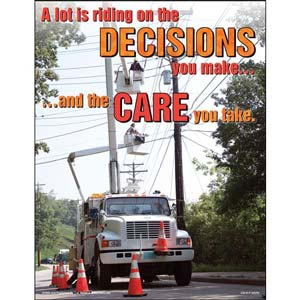 Bucket Truck Safety Training for Operators Program - Awareness Poster