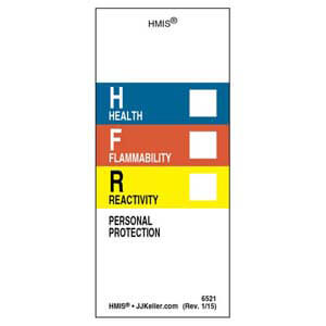 Original HMIS® Laboratory Labels w/ Personal Protection Area