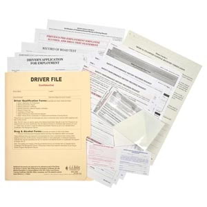 Driver Qualification File - Services Edition