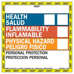 Bilingual HMIS® III Label