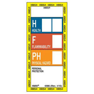 HMIS® III Labels - Rectangular