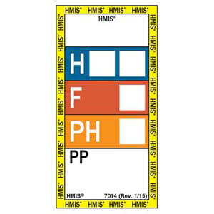 HMIS® III Laboratory Labels