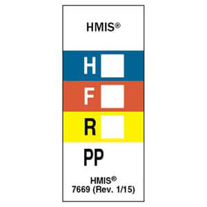 Original HMIS® Laboratory Labels