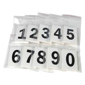 Two-Inch Vinyl Numbers Kit