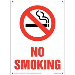 Pennsylvania: No Smoking Sign