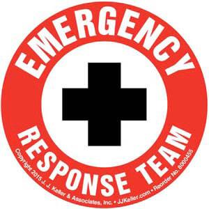 Emergency Response Team - Hard Hat/Helmet Decal