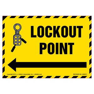 Lockout Point Label