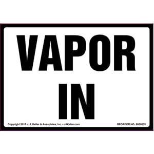 Vapor In Label