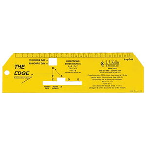 """The Edge"" Professional Driver's Ruler"
