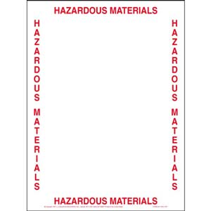 Hazardous Materials Bill of Lading Envelope
