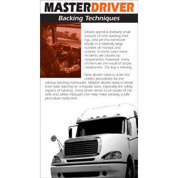 Master Driver: Backing Techniques - Driver Skills Cards