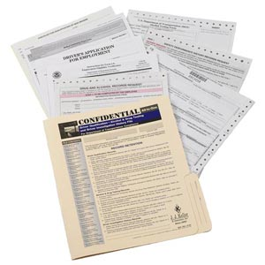 Confidential All-In-One Driver Qualification Packet (Two-Copy)