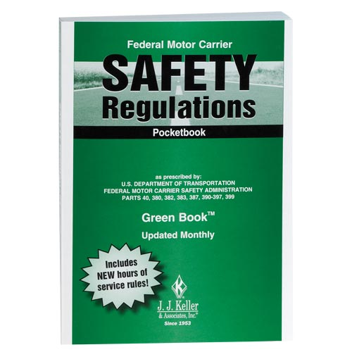 Federal Motor Carrier Safety Regulations Pocketbook (Green Book™) - Retail Packaging (07040)