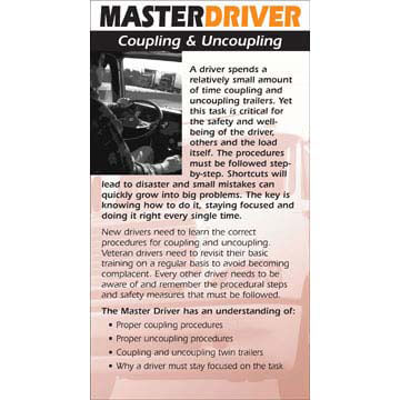 Master Driver: Coupling & Uncoupling - Driver Skills Cards (01260)