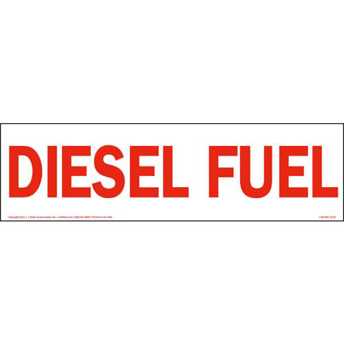 Diesel Fuel Sign (01656)