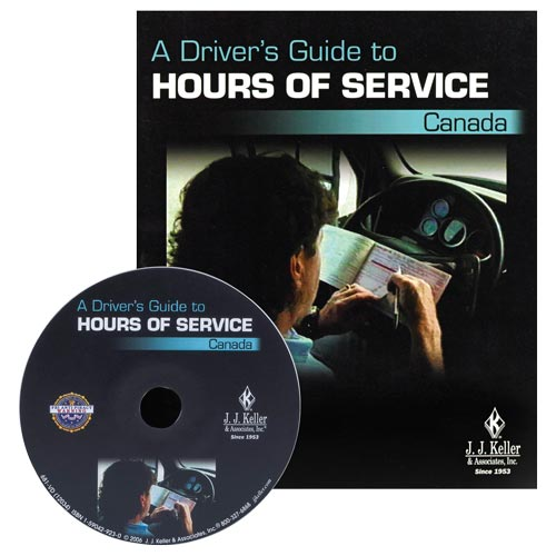 Hours of Service Canada: A Driver's Guide - DVD Training (02711)