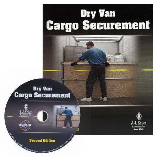 Dry Van Cargo Securement, Second Edition DVD Training Program (02712)
