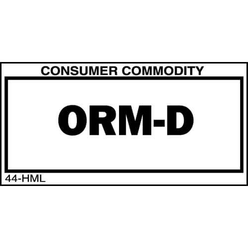 ORM-D Package Marking (00227)