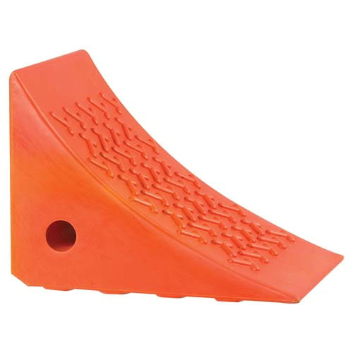 Orange Polyurethane Wheel Chock (02015)