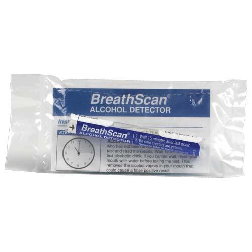 BreathScan® Disposable Breath Alcohol Detector - .02 (02049)