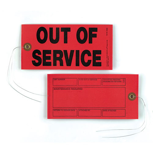 Out Of Service Tags (01424)