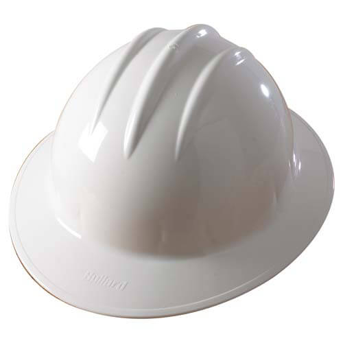 Bullard® Classic Full Brim Ratchet Hard Hat (01192)