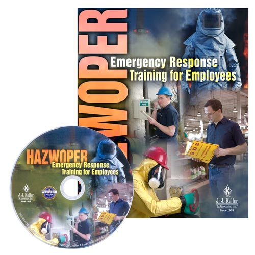 HAZWOPER Emergency Response Training for Employees - DVD Training (02687)
