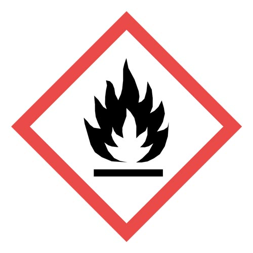 GHS Pictogram Labels - Flame (05789)