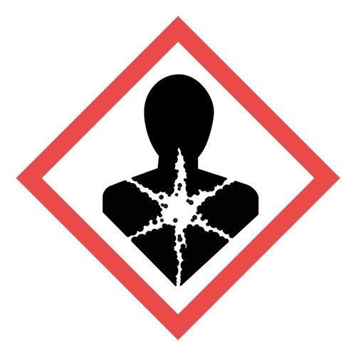 GHS Pictogram Labels - Health Hazard (05794)