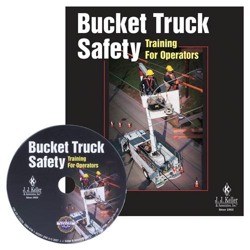 Bucket Truck Safety Training For Operators - DVD Training (02675)