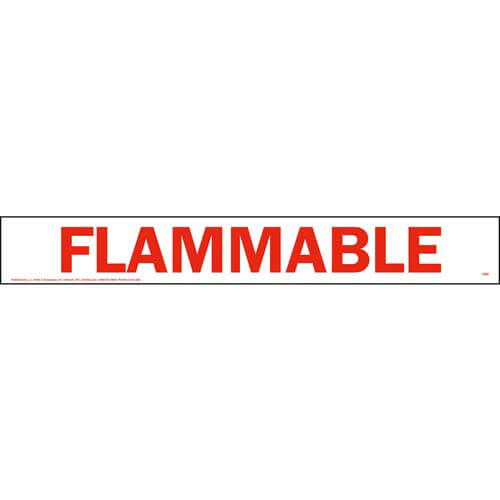 Flammable Sign (01734)