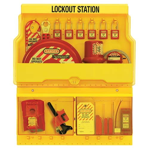 Large Capacity Lockout/Tagout Station (01796)