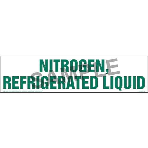 Nitrogen, Refrigerated Liquid Sign (01737)